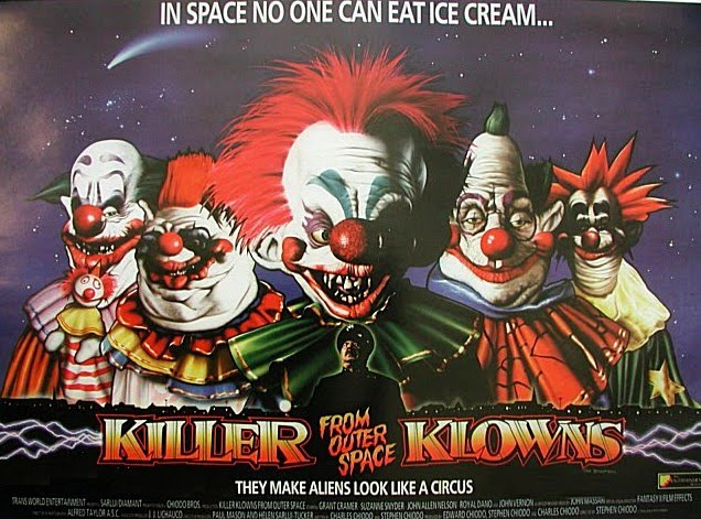 Killer klowns from outer space 1988 scopophilia for Killer clown movie