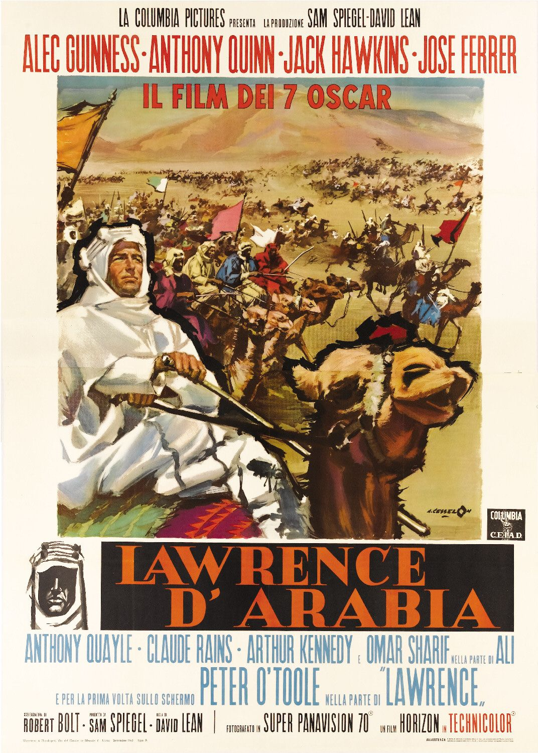 a movie review of lawrence of arabia With david lean's epic back in cinemas in a 4k digital revival, read how the  monthly film bulletin reviewed it in 1963 there is praise for the.