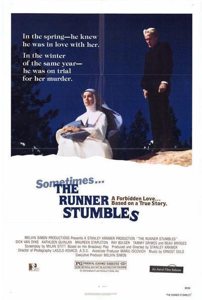 the runner stumbles 1